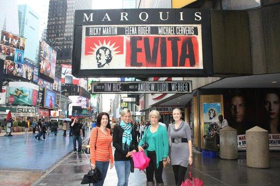 Evita on Broadway
