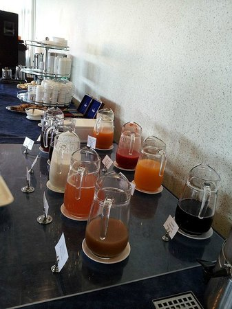 Spa Hotel Laine : Interesting combination of flavours for breakfast juice