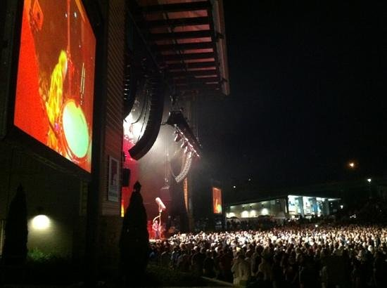 Tuscaloosa Amphitheater: Stage Right