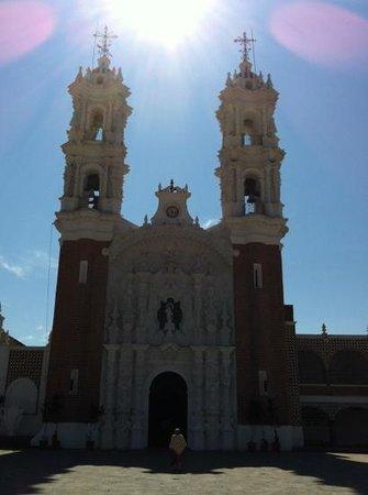 Basílica de Nuestra Señora de Ocotlán: towers of la Basilica de Ocotlan