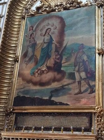 Basílica de Nuestra Señora de Ocotlán: Juan Diego y la Virgen de Ocotlan