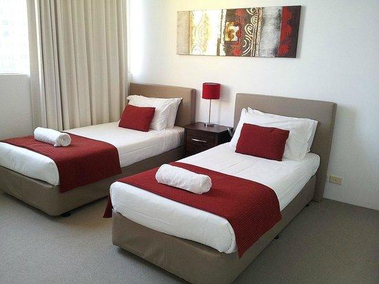 ULTIQA Air On Broadbeach: Twin bedroom