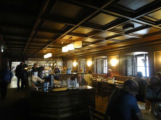Bergrestaurant Kehlsteinhaus: The restaurant's interior