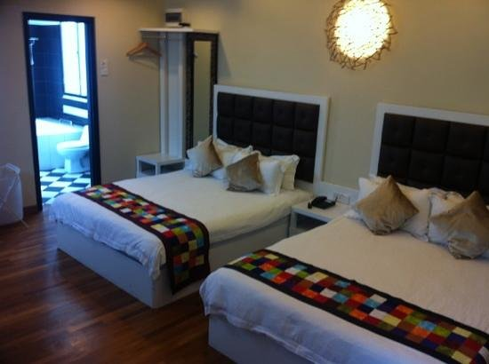 Jonker Boutique Hotel: Grand Deluxe Room with 2 double bed for 4 pax