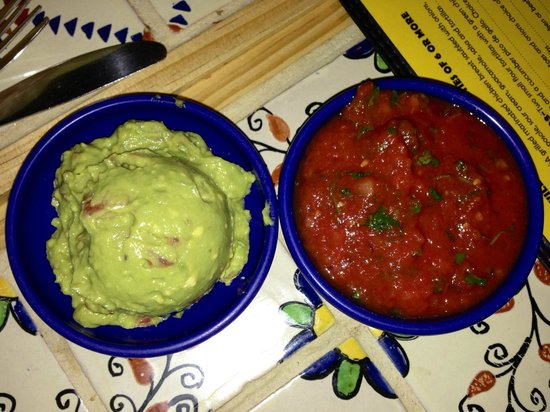 Orlando's New Mexican Cafe: Guacamole and Salsa, our new Christmas Eve tradition