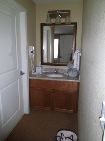 Residence Inn Billings: queen bathroom sink