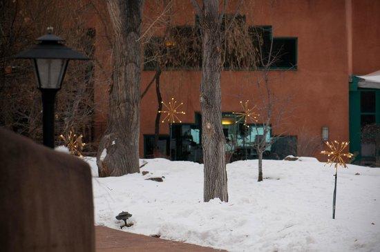 El Monte Sagrado: Hotel grounds