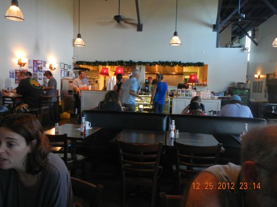 Colleen's at the Cannery: interior