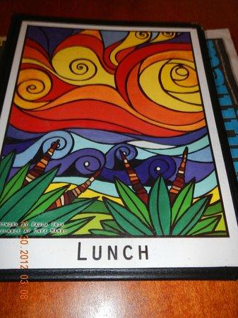 Cafe Mambo: lunch menu