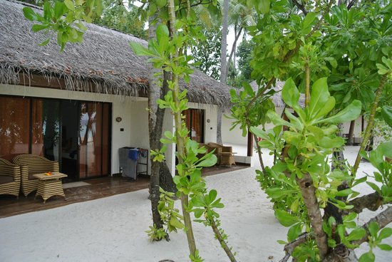VOI Maayafushi Resort: Vista del mare della camera