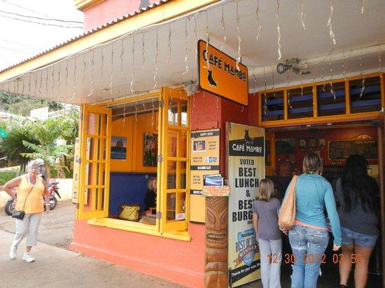 Cafe Mambo: entry