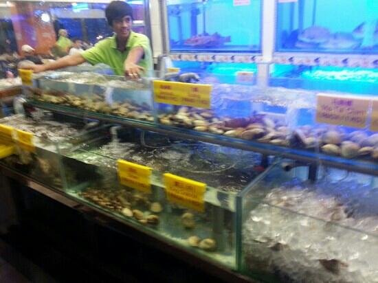 Cititel Express Kota Kinabalu: great deal seafood resto near the cititel hotel