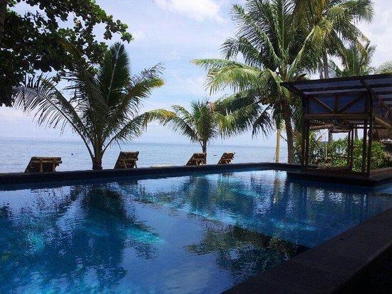 Rinjani Beach Eco Resort: swimming pool