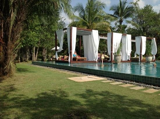 The Sarojin: pool area