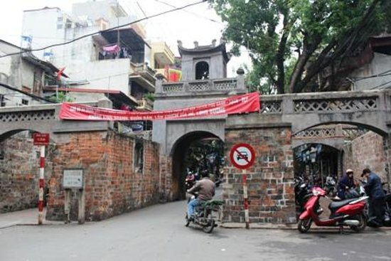 Old City Gate: ハノイ旧市街の門