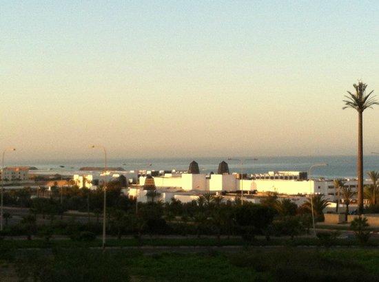 Bo hotel & Spa : vue du balcon