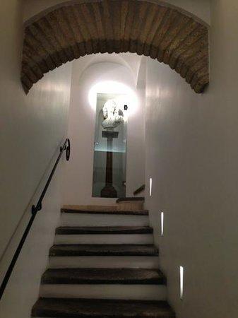 Gigli d'Oro Suite: scalinata