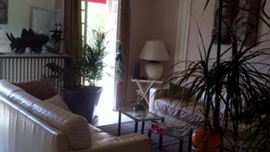 Villa Hedonia : le salon
