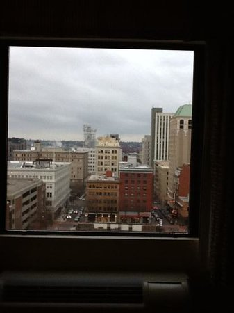 Paramount Hotel: 11th floor view.