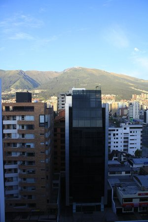 Sheraton Quito: View from room in the 10th floor