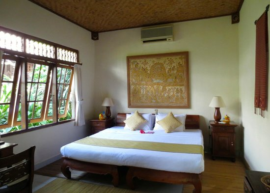 Alam Indah: The deluxe suite.