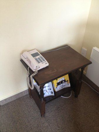 Airport Lodge Motel : phone table ??