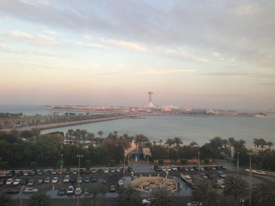 Hilton Abu Dhabi: view from my room