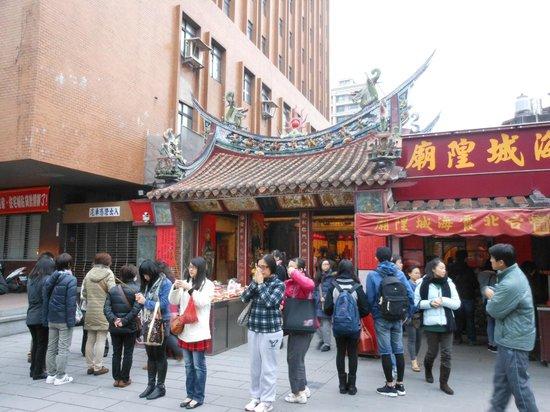 Xiahai Chenghuang Temple: 出会いを願って