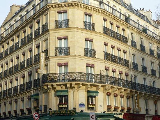 โรงแรมแอ็บบาเทียลแซงต์แชร์กแมง: angolo fra il Boulevard e la Rue des Bernardins