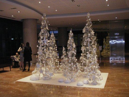 Hilton Strasbourg: le hall joliment décoré