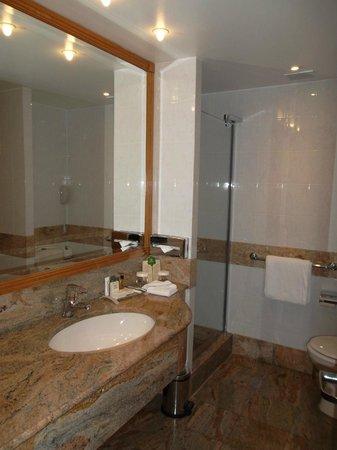 Hilton Paris Charles de Gaulle Airport: salle de bains
