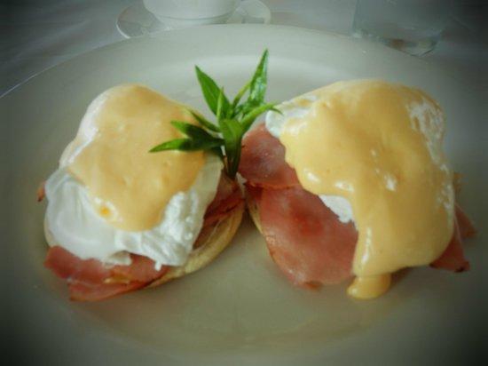 Zilzie, أستراليا: Eggs Benedict 