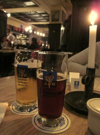 Augustiner am Gendarmenmarkt: Beers by candle light