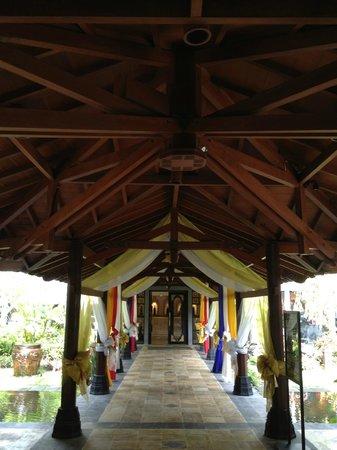 Hyatt Regency Yogyakarta: Entrance to reception