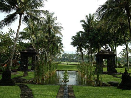 Hyatt Regency Yogyakarta: View from reception