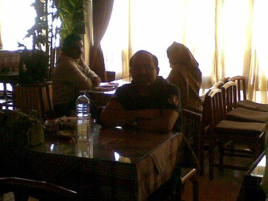 The Park Restaurant: table