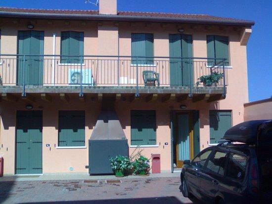 Hotel Ristorante Due Ragni: Camera/appartamentino