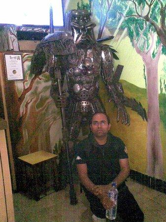 The Park Restaurant: me and predator