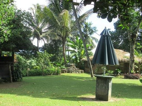 The Kandyan Manor: view from the garden