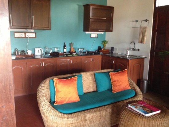 Kitchenette In Master Bedroom Picture Of Marari Villas Mararikulam Tripadvisor