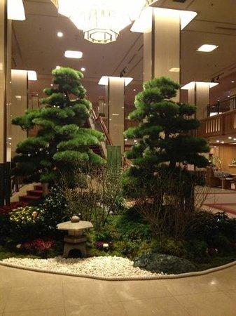 Imperial Hotel Tokyo: la hall dell'hotel