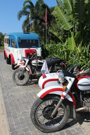 Victoria Hoi An Beach Resort & Spa: Sidecars - can take you into town