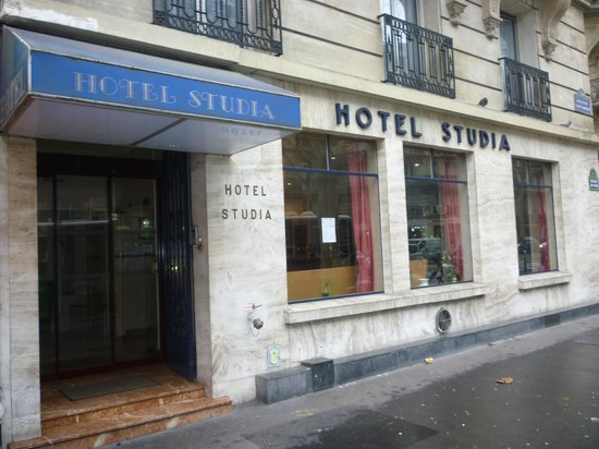 Hotel Studia: ingresso sul Boulevard