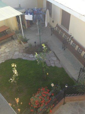 La Casa de Tounens: Giardino visto dal balcone della camera