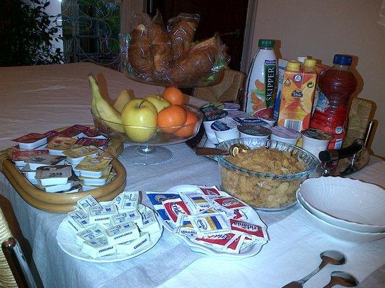 colazione per due - Picture of Soggiorno Rondinelli, Florence ...