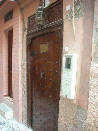 Front Door Riad Marana