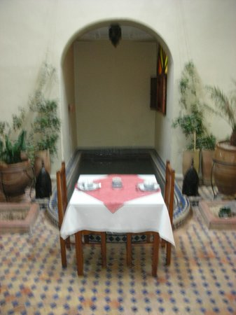 Riad Marana: Resturant/Common Area