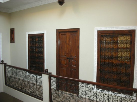 Riad Marana: Our room door