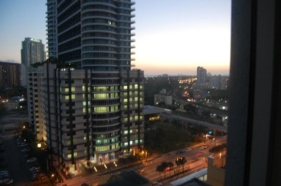 Hampton Inn & Suites by Hilton - Miami/Brickell-Downtown: vue de ma chambre