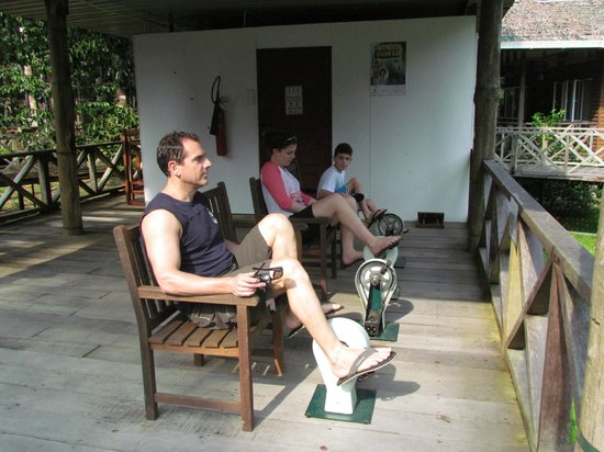 Borneo Nature Lodge: Keeping fit